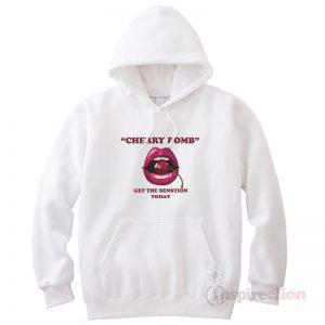 Cherry Bomb Sensation Funny Hoodie Unisex