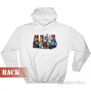 Cat Kennedy Space Center Hoodie Unisex