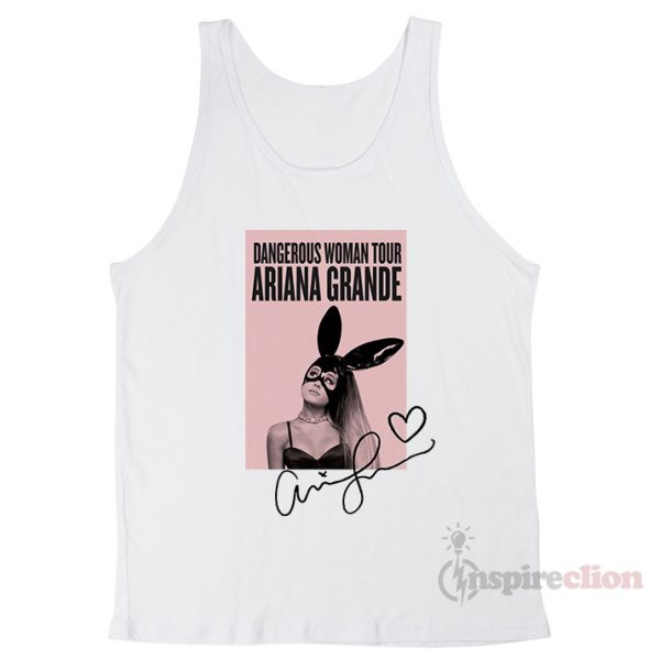 Dangerous Woman Tour Ariana Grande's Tank Top