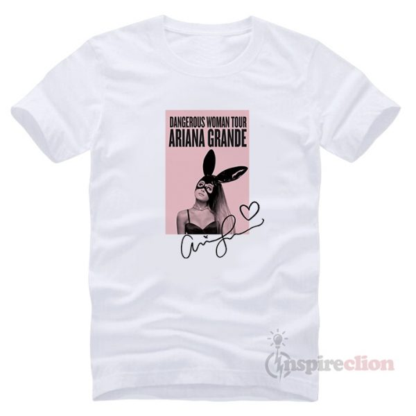 Dangerous Woman Tour Ariana Grande's T-shirt