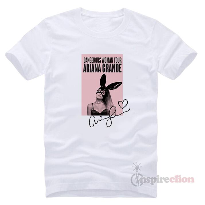 583a1846 Dangerous Woman Tour Ariana Grande's T-shirt - Inspireclion.com