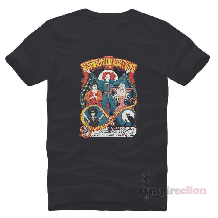 Hocus Pocus Sanderson Sisters Halloween T-Shirt Clothes