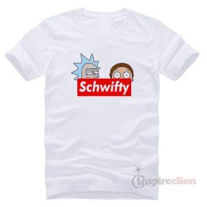 Schwifty Leader Rick adn Morty Supreme T-shirt Cheap Custom