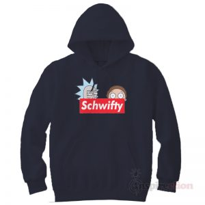 Schwifty Leader Rick adn Morty Supreme Hoodie Hype