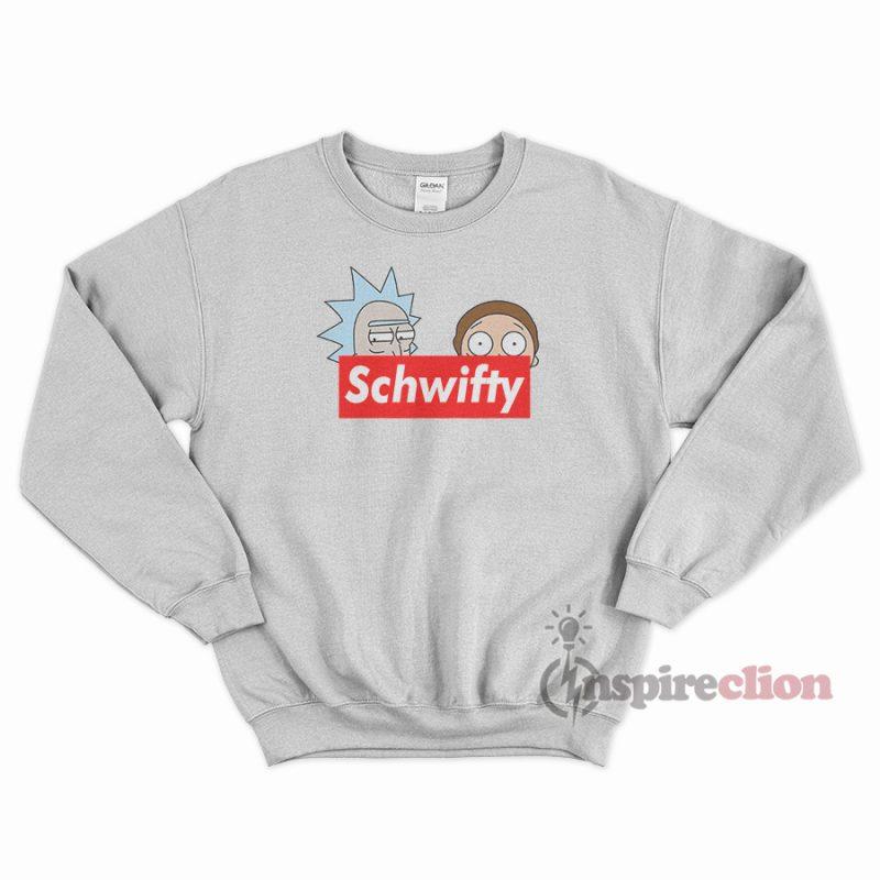 fe4bca9232e5 Schwifty Leader Rick And Morty Supreme Sweatshirt - Inspireclion.com