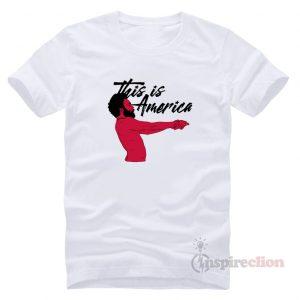 Childish Gambino This is America T-Shirt Cheap Trendy