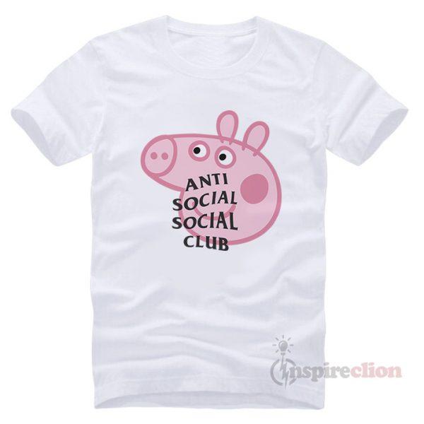 Anti social social club t shirt