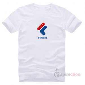 Fast Food Sportswear Collaboration Fila x Domino's Logo T-shirt