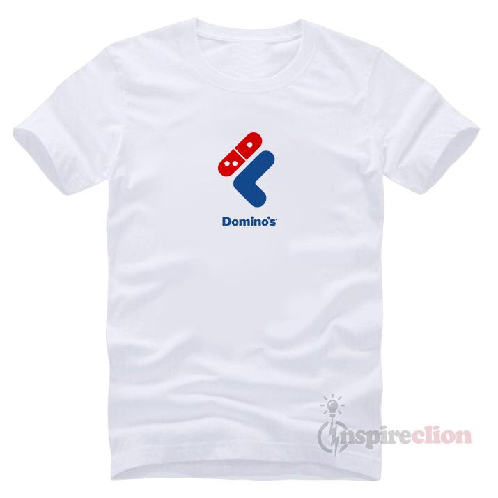 0b68db7c1 Fast Food Sportswear Collaboration Fila x Domino's Logo T-shirt ...