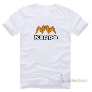 Kappa Estessi Parody Chicken Wing Logo T-shirt