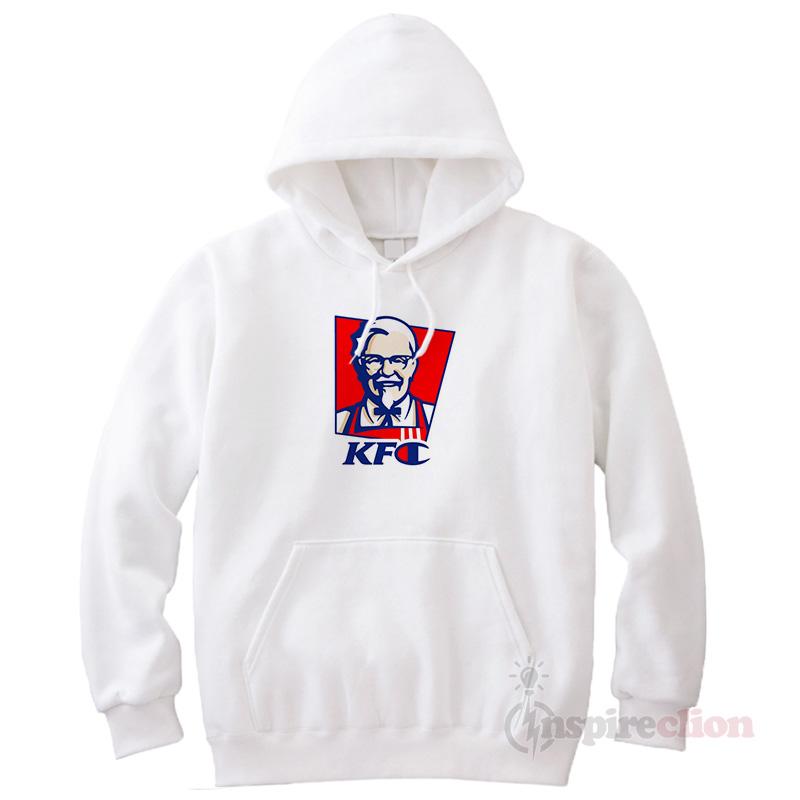 d3c8d62da KFC x Champion Parody Fast Food Sportswear Logo Hoodie - Inspireclion