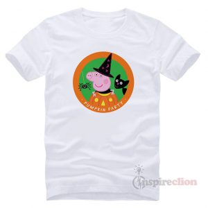 Peppa Pig Halloween Pumpkins Party Funny T-Shirt