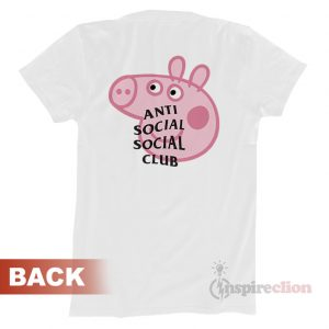 Anti Social Social Club x Peppa Pig ASSC T-shirt