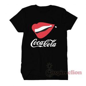 Coca Cola Lipp And Botless T-shirt