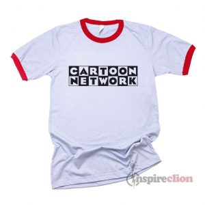Cartoon Network Ringer T-shirt Cheap Custom