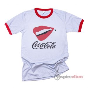 Coca Cola Lipp And Botless Ringer T-shirt