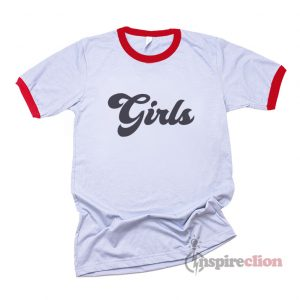 Girls Ringer T-shirt Custom