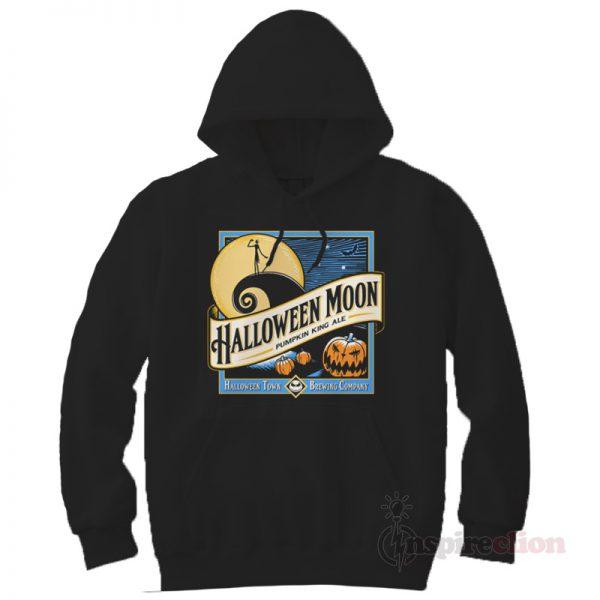 Halloween Moon Jack Skellington Hoodie