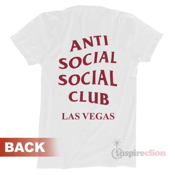 Anti Social Social Club Las Vegas ASSC T-shirt