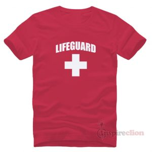 Lifeguard Red YMCA Pool Staff T-shirt