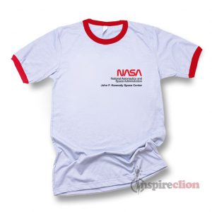 NASA Space Voyager Ringer T-shirt