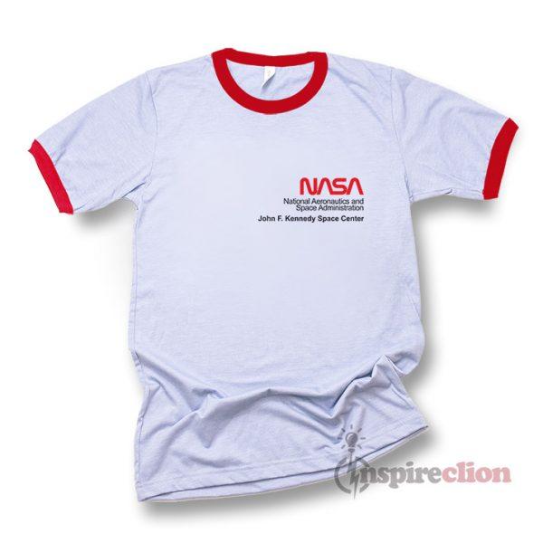 NASA Space Voyager Ringer T-shirt
