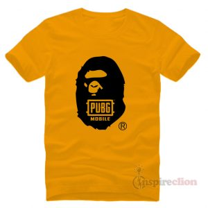 PlayerUnknown's BattleGrounds BAPE x PUBG T-Shirt