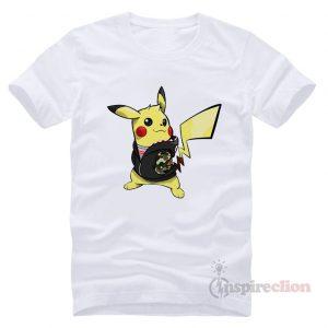 Pikachu Hypebeast x Supreme x A Bathing Ape T-shirt
