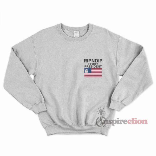 RipNdip For President Pocket Sweatshirt Unisex
