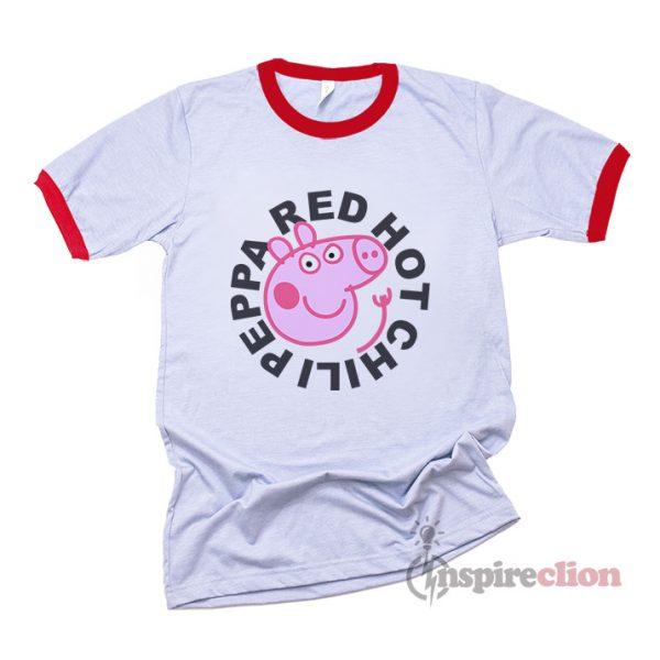 Red Hot Chili Peppa Ringer T-Shirt