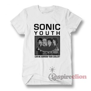 Sonic Youth Bart Simpson Vitage 90s T-shirt