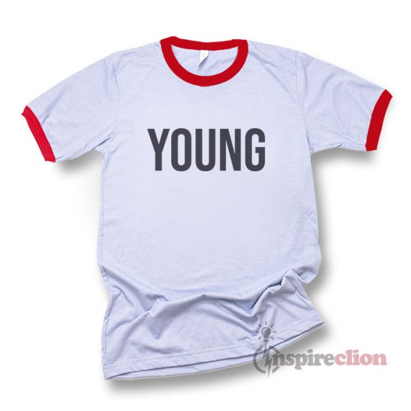 YOUNG Ringer T-shirt Unisex