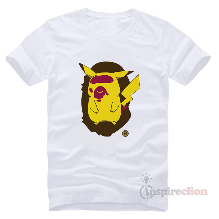fdebd509 Bape X Pokemon A Bathing Ape T-shirt - Inspireclion.com