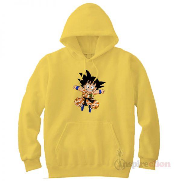 Son Goku Hypebeast x A Bathing Ape BAPE Hoodie