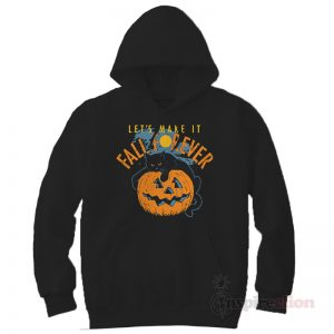Fall Forever Moon Jack Skellington Hoodie Halloween