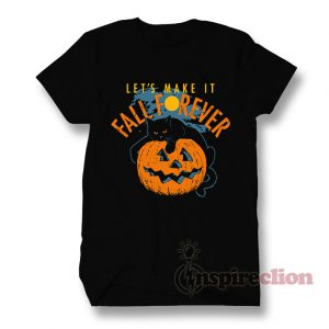 Fall's Forever Moon Jack Skellington T-Shirt Halloween