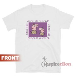 Fancy Gacci Peppa Pig Gucci Funny T-Shirt