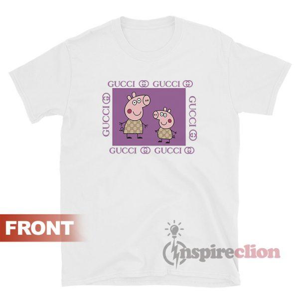 Fancy Gacci Peppa Pig Gucci Funny T-Shirt