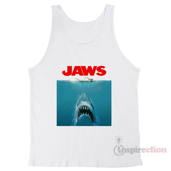 51be0256bb4fa7 American Classics Jaws Shark T-Shirt Tank Top - Inspireclion.com