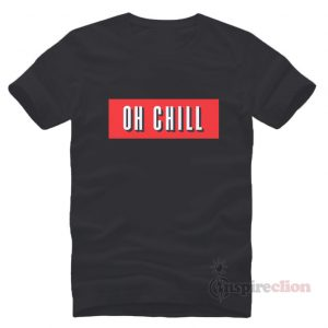 Netflix Oh Chill Red Box Logo T-shirt