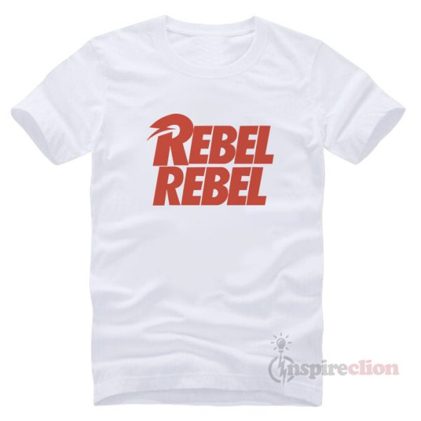 David Bowie Rebel Rebel e T-shirt