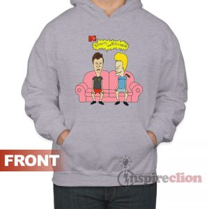 Beavis And Butthead Do America 1996 Vinatge Hoodie Mtv's