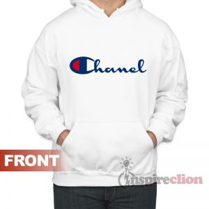 Chanel X Champion Parody Hoodie Adult For Women's or Men's