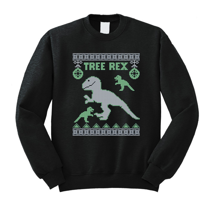 Christmas Tree Rex Sweatshirt