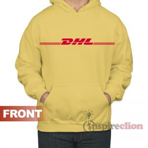 DHL Express Hoodie Adult For Women's or Men's