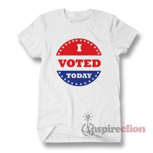 I Voted Today Red Hook T-Shirt Unisex