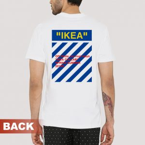 Ikea x Off White Collabs T-shirt Cheap Custom