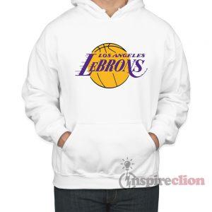 Los Angeles LeBron's Hoodie Custom For Women's Or Men's