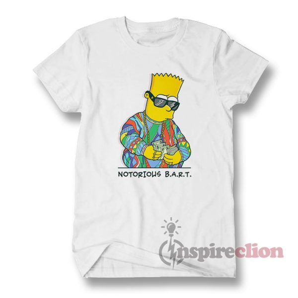 The Notorious B.A.R.T. Hip-Hop Simpson T-shirt