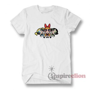 The Powerpuff Girls T-Shirt Adult For Men's And Women's